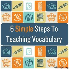 Whether you work with elementary schoolers, physics students, or even your own kids, you probably spend time teaching vocabulary. Check out these tips for making it more effective and engaging.