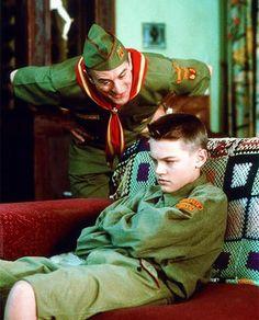Robert De Niro and very young Leonardo Di Caprio #cinema
