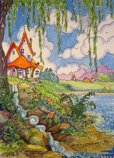 Lakeside Dreams Storybook Cottage Series | Flickr - Photo Sharing!