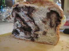 unbelievable chocolate cherry brioche
