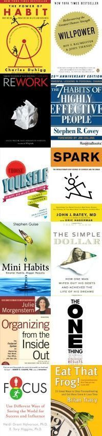 How to never run out of good things to read!  There are thousands of books on self-help, habit change, and personal development. This post shows over 175 of the best self-help books.
