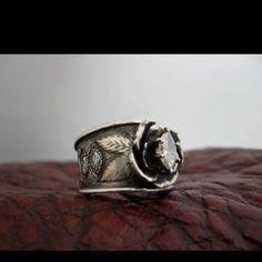 Western wedding ring!! Love!!