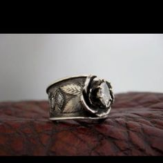Western wedding ring!! Love!!