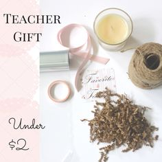 Thrifty Teacher Gift Idea, Happy Memorial Day | Love of Home