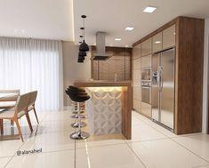Dry kitchen if don't have open concept kitchen Studio Kitchen, Living Room Kitchen, Home Decor Kitchen, Home Kitchens, Modern Kitchen Interiors, Interior Design Kitchen, Rustic Kitchen Cabinets, Pantry Design, Kitchen Trends