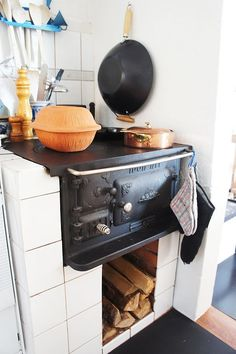 Josef Davidssons Idun 1 vedspis / range cooker.