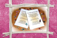 Ihr bietet hier auf einen **Schutzengel** inkl. Spruch & Folientütchen. Dieser Glücksbringer wird mit Liebe geschenkt! Größe des Tütchens: 9,5 x 13 cm Größe des Schutzengels ca. 2cm Die Farbe...