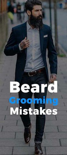 Beard Growing Mistakes Latest Beard Styles, Beard Styles For Men, Mens Fashion Blog, Latest Mens Fashion, Beard Look, Fashion 2020, Men's Fashion, Mens Clothing Styles, Men's Clothing