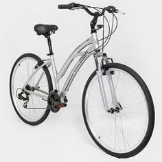 Bicicleta MOOD 700 Confort Fem - Aro 700 - Shimano 21 Marchas - Aluminio - Prata