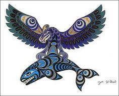 Partout en Amérique du Nord, il existe des légendes qui concernent celui qu'on appelle Wakinyan chez les Sioux ou Sanuwa chez les Iroquois. Il y a des lunes et des lunes de cela, les hommes p…