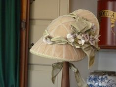 Colonial Williamsburg milliner's shop by Fashionable Frolick, via Flickr