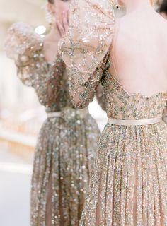 Evening Dresses For Weddings, Bridal Dresses, Wedding Gowns, Golden Dress, Elie Saab Couture, Luxury Dress, Designer Gowns, Embellished Dress, Bridal Lace