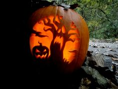 30  Best Cool, Creative & Scary Halloween Pumpkin Carving Ideas