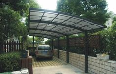 Modern Metal Carport Models