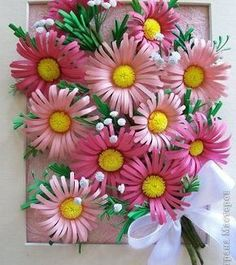 How to make fringed daisy some of you have asked me how i make my daisies smile emoticon it s reallyQuilling design kids can tryPaper quilling idea for kidsSimple Craft Ideas - Get Easy And Simple Craft Ideas Quilling Images, Paper Quilling Cards, Paper Quilling Flowers, Paper Quilling Designs, Paper Flowers Craft, Quilling Paper Craft, Quilling Patterns, Diy Flowers, Decorative Paper Crafts