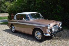 1963 Sunbeam Rapier Series 3A Maintenance of old vehicles: the material for new cogs/casters/gears could be cast polyamide which I (Cast polyamide) can produce