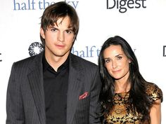 CELEBS WHO ARE RUMORED TO BE SWING..ASHTON KUTCHER AND DEMI MOORE While married, it was alleged that the couple had an open marriage and even participated in threesomes together. After they split, comedian Chelsea Handler even came out saying she thinks their arrangement ultimately led to end of their union, believing that Demi got upset when Ashton was getting more extra action than she was.