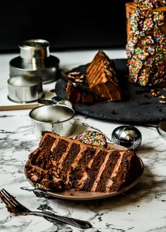 Aging perks /-/ Giant Chocolate freckle cake   The Moonblush Baker