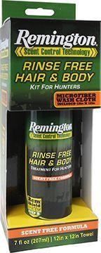 BRYSON INDUSTRIES Remington Rinse Free Hair & Body Wash Kit 7oz, EA