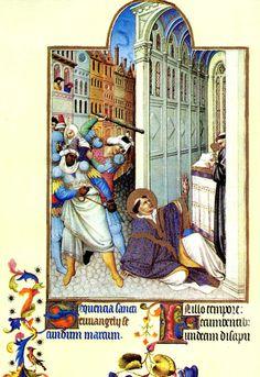 Folio 19v - The Martyrdom of Saint Mark