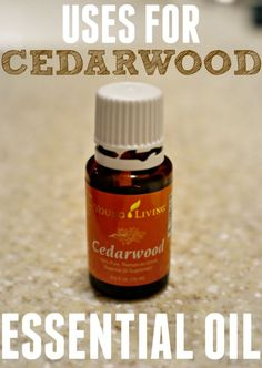 Check out all these awesome benefits and uses of cedarwood essential oil. I love this one for helping me sleep.