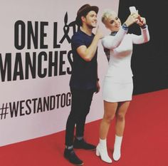 Mom and son One love manchester