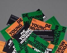 De Young Museum | Visual Identity (fictional) on Behance