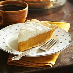 Butterscotch Pie...the trick is in the 'stirring' following each addition of ingredients.