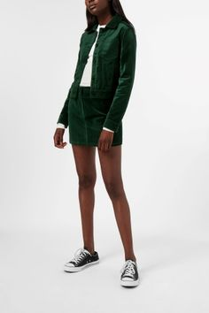 Weekday image 2 of Liza Jacket in Green Bluish Dark