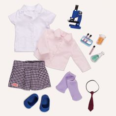 Sia & Party Plans Science Go Pop! Deluxe Our Generation Doll from Our Generation World Ropa American Girl, American Girl Clothes, Girl Doll Clothes, Girl Dolls, Og Dolls, Our Generation Doll Clothes, Poupées Our Generation, Shopkins, Barbie Camper