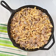 Beef Stroganoff Recipe From Scratch - I've been craving beef stroganoff and can't wait to try this!