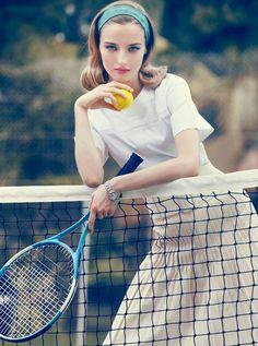 Tennis fashion shoot #tennis #ausopen  www.australianopen.com