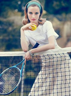 Tennis fashion shoot #tennis #ausopen  www.australianopen.com