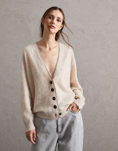 Thing 1, Cashmere Cardigan, Brunello Cucinelli, Fashion Advice, Rib Knit, Knitwear, Personal Style, Ready To Wear, Vogue