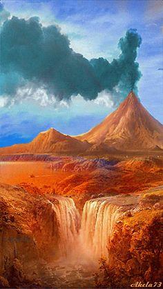 Nome: Paraiso do fogo Desc: Onde o reino do fogo e o selvagem se encontram. Obs: Também ajuda as cruaturas da água e selva.