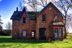 Abandoned Farm House in Howard Township, Ontario.
