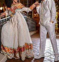 Ethiopian Wedding Dress, Ethiopian Dress, Ethiopian Traditional Dress, Traditional Dresses, African Print Fashion, African Fashion Dresses, Shifon Dress, Habesha Kemis, Simple Outfits