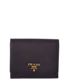 57e527be571f Prada Prada Saffiano Leather Flap Wallet at Bluefly.com. Prada Saffiano,  Card Case