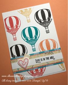 Ellen Woodbridge Independent Stampin' Up!® Demonstrator - Central Coast NSW Australia: Love is in the Air - Lift me Up with WWYS #103 using Stampin' Up! Products #stampinup for full details please visit my blog http://ellenthehappystamper.blogspot.com.au
