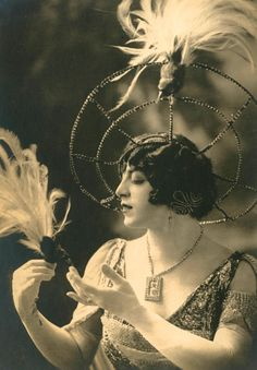 """Circa 1925. (The inscribed dates on some of these photographs do not necessarily reflect the date they were taken.)    Francis Renault (born Antonio Auriemma; 5 August or September 1895 (or 1893), Naples, Italy - 29 May 1955), female impersonator or """"femme mimic""""."""