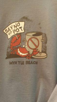 Say no to pot crab
