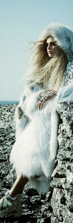 Billionairess....Ski and Apres Ski: Call Of The Wild: Sasha Pivovarova