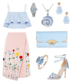 """""""Untitled #262"""" by laurenharty ❤ liked on Polyvore featuring VIVETTA, Suneera, New Look, Dorothy Perkins, Miadora, Rolex and Ice"""