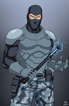 Lock up by phil-cho art Comic Character, Character Concept, Character Design, Character Ideas, Marvel Dc, Marvel Heroes, Superhero Characters, Dc Comics Characters, Gotham