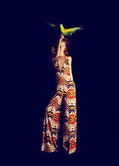 Title: Apuntes del natural  Magazine: Harper's Bazaar España February 2012  Model: Kasia Struss  Photographer: Nico  Stylist: Juan Cebrián