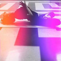 enter the light! #yoga matsyasana