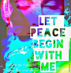 Happy International Day of Peace! Love And Light, Peace And Love, International Day Of Peace, Inner Peace Quotes, Lost In Thought, Give Peace A Chance, Prince Of Peace, Age Of Aquarius, Hippie Life