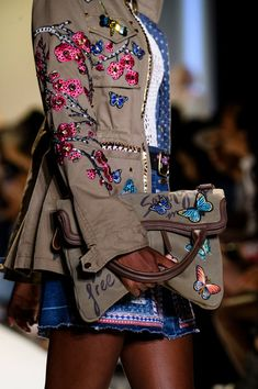 Desigual at New York Fashion Week Spring 2017 - Details Runway Photos