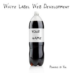 White label web development. Websites powered by you!
