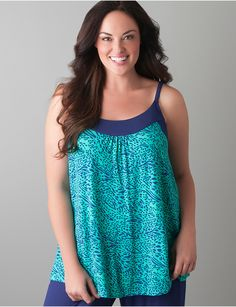 Plus Size Sleep Cami by Cacique | Lane Bryant